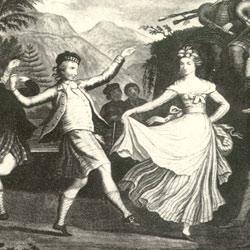 Historische Tänzer